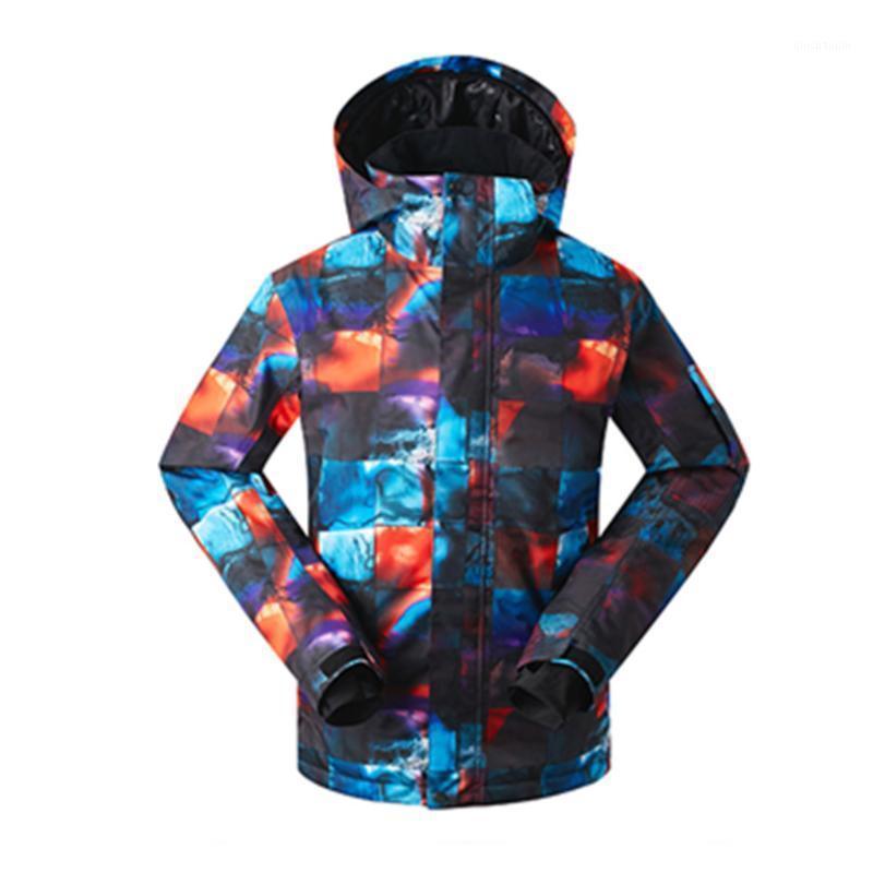 Зимний GSOU снежный бренд сноуборд куртка водонепроницаемый лыжный куртка 2020 мужчин снег горнолыжный костюм Chaquesa Esqui Hombre Mannen Ski-Jack1