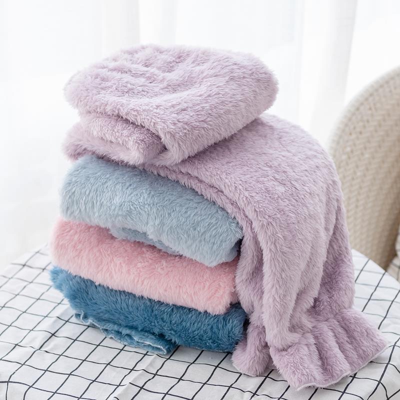 Franela espesa cálida noche de los pantalones de los pantalones de pijama Inicio Salón del sueño bragas de Invierno 2020 nuevo sólido pantalones de pijama de color