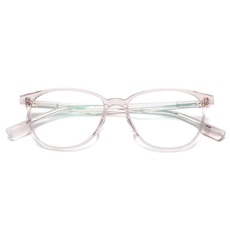 Logorela 1102 خلات النظارات البصرية الإطار نساء ريترو جولة خمر النظارات الطبية النظارات قصر النظر نظارات