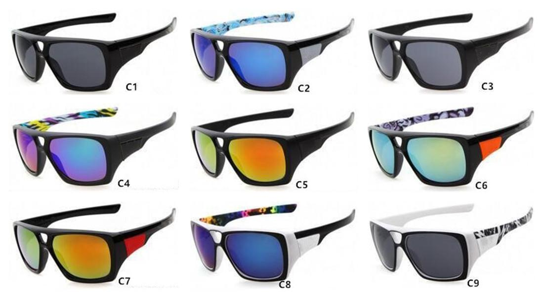 Fashion F7968 Brand Sunglasses Sun Brand Oversized Women Sports Glasses Vintage UV400 Colorful Men Goggles Popular Eyewear Gsdse