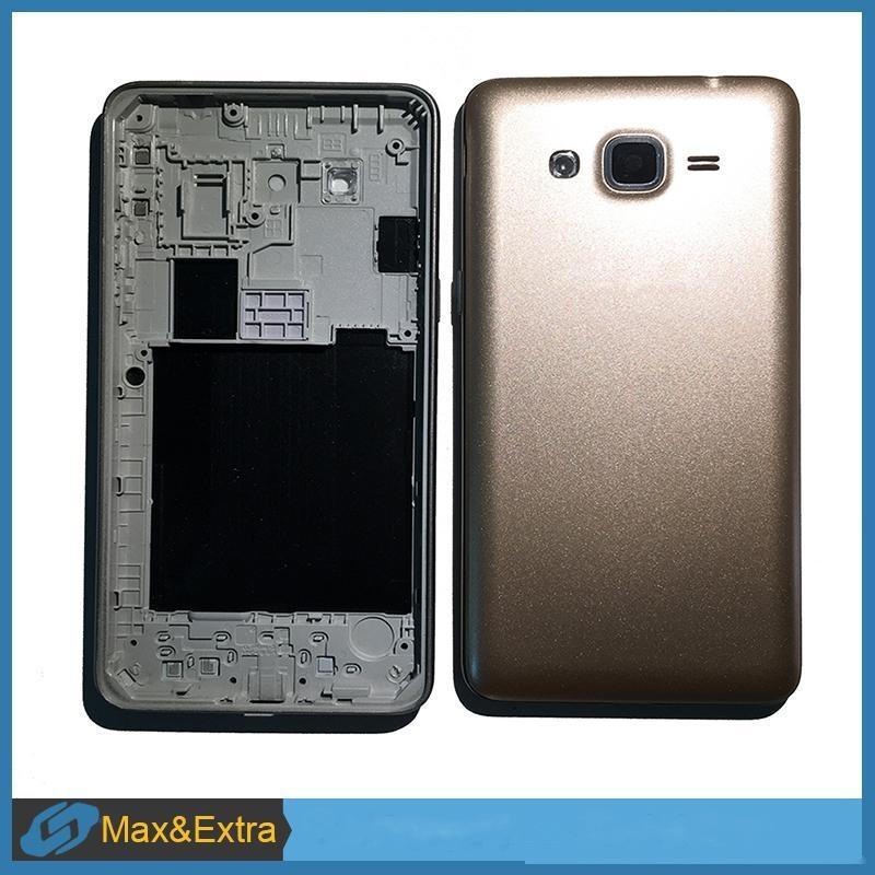 Capítulo de caso 10pcs / lot para Samsung Galaxy Gran Primer G531 G531H batería cubierta trasera tapa de la batería Tapa de carcasa con Oriente