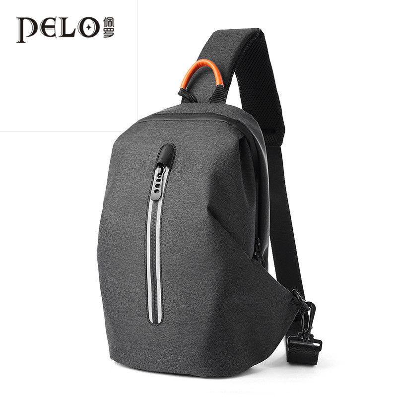 На груди мужская новая корейская мода большая емкость рюкзак для отдыха Многофункциональный бизнес путешествия одно плечо сумка