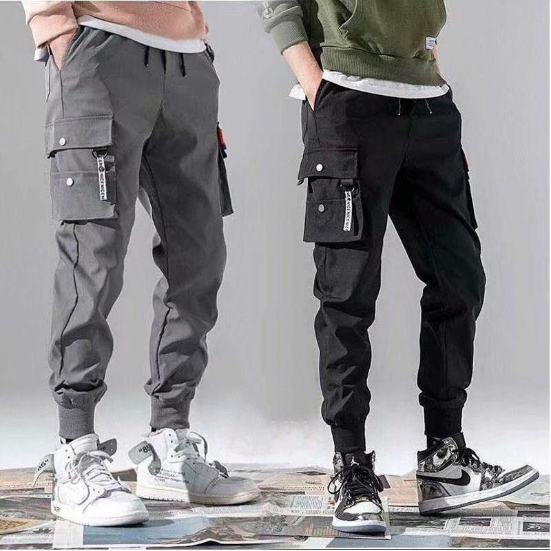 overallsTights primavera y verano de 2020 guardapolvos guardapolvos de los nuevos hombres de la marca del corsé de la manera ocasional pantalones delgados de los hombres pantalones de la manera coreana MKqnT MK