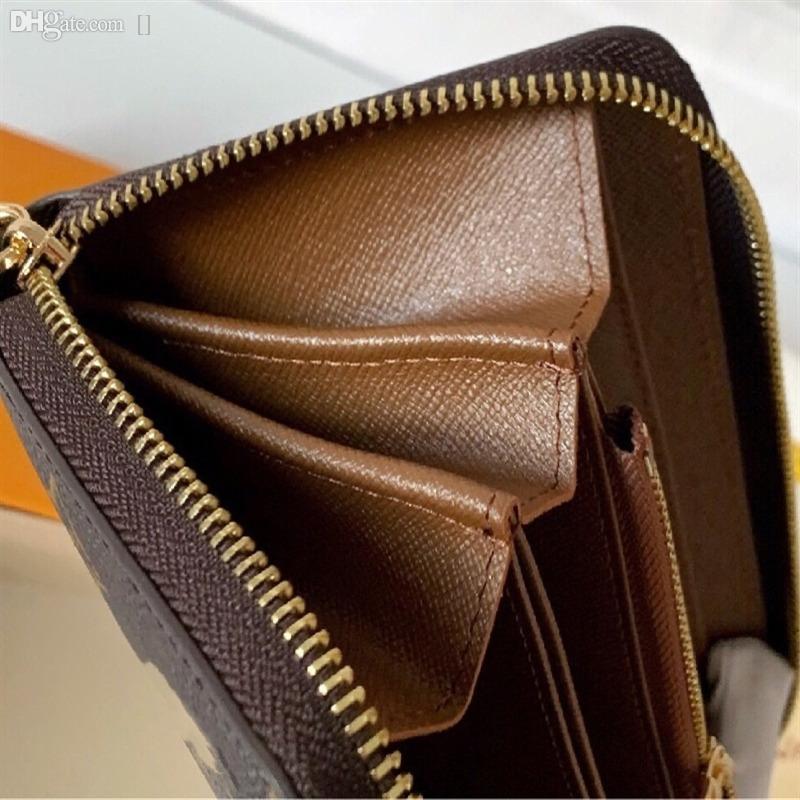Кошелек по коридору стильный держатель карты вертикальный Wodkn штамп для дизайна вокруг денег дизайнер, карточные монеты зиппи знаменитые мужчины несут и люкс DHSI