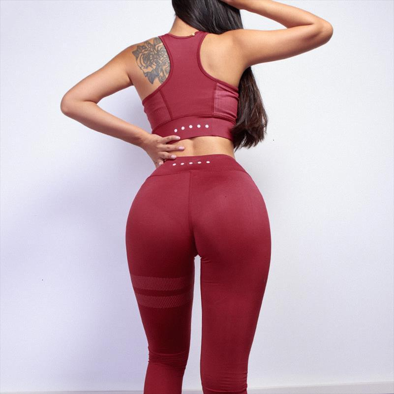 Kadınlar Çizgili Spor Eşofman Kadınlar Vintage 2 Adet Set yastıklı Corp Üst Uzun Tayt Casual Setleri Womens yazdır