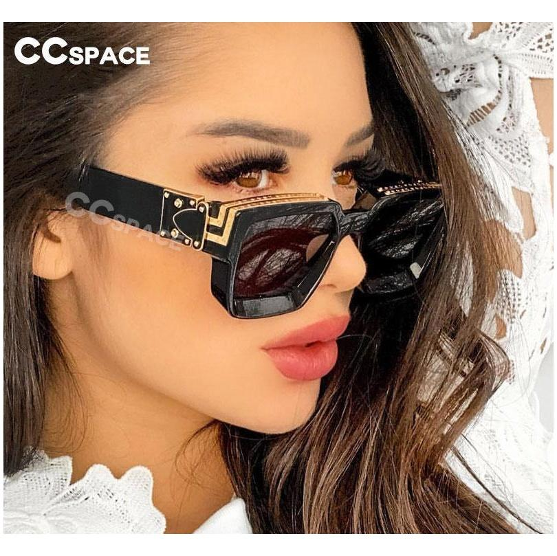 46167 Square Brand Designer Square Sunglasses Men Women Acrylic Fashion U jllnDM mx_home