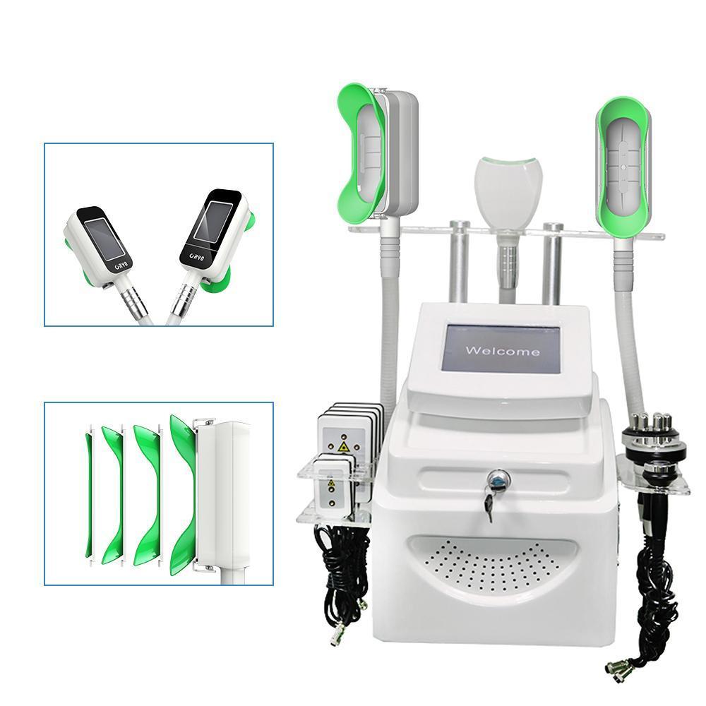360 Cryolipolysis Cool Tody Builpting Machines RF 40K Кавитация тела с 360 металлическими ручками для рук для тела и двойного подбородка.