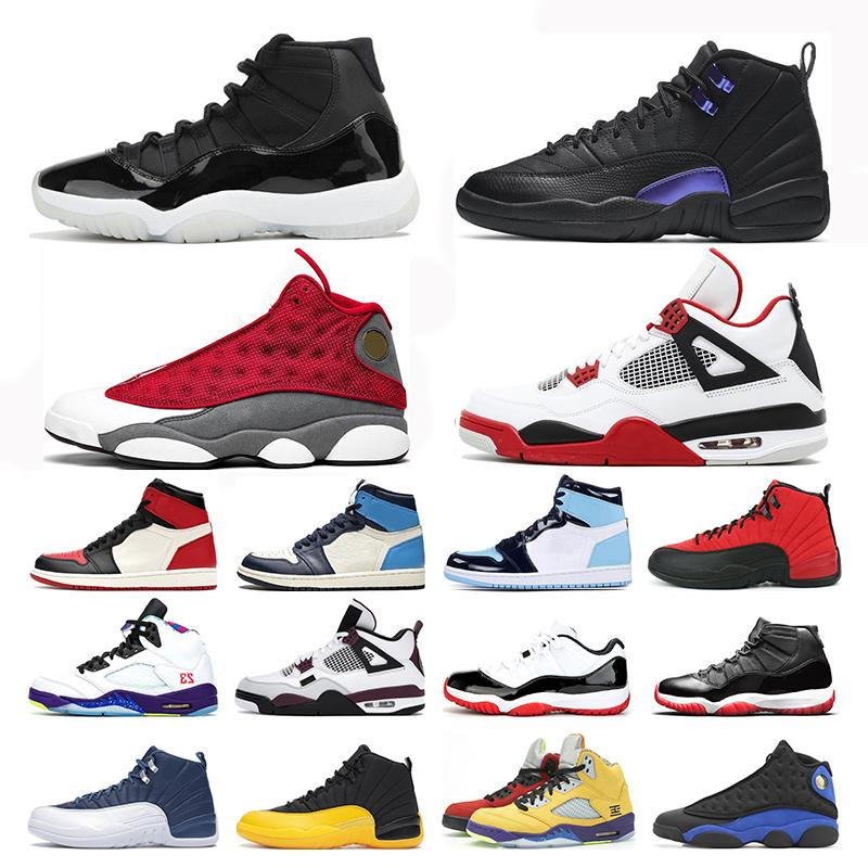 mens basketball shoes 1s unc 25th Anniversary 11s Dark Concord 12s Red Flint 13s Alternate what the 5s women mens trainers sports sneakers