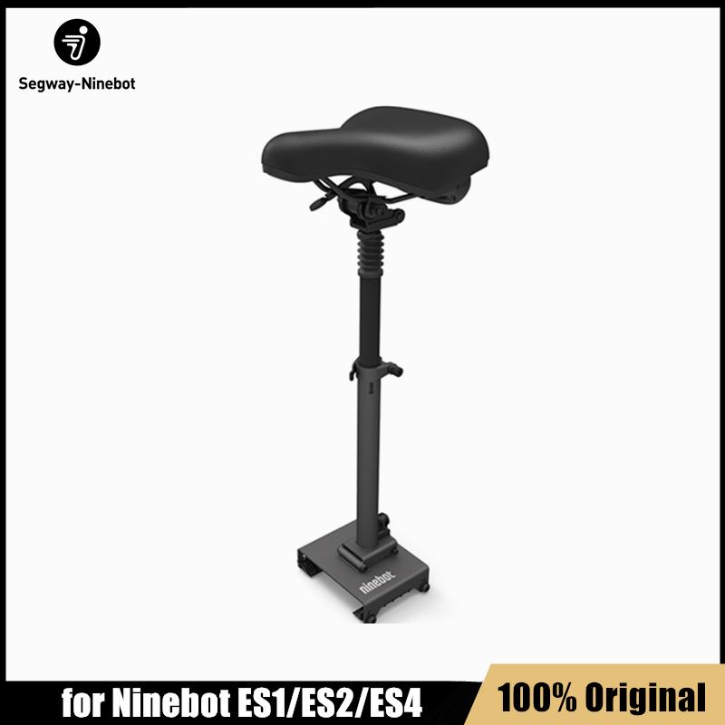 Orijinal Katlanabilir Eyer Koltuk Ninebot KickScooter ES1 ES2 Akıllı Elektrikli Scooter Hafif Kaykay Koltuk Accessaries