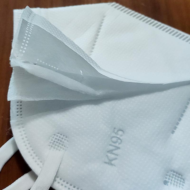 5 strati in magazzino! DHL maschere liberi spedizione 500pcs monouso viso bianco antipolvere PM2.5 maschere di sicurezza uomini donne maschera viso monouso YT