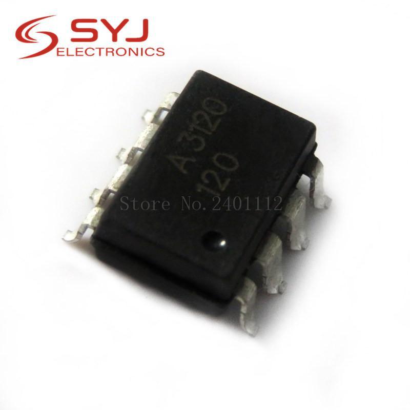 10pcs / серия HCPL3120 SOP8 HCPL3120 СОП A3120 SMD на складе