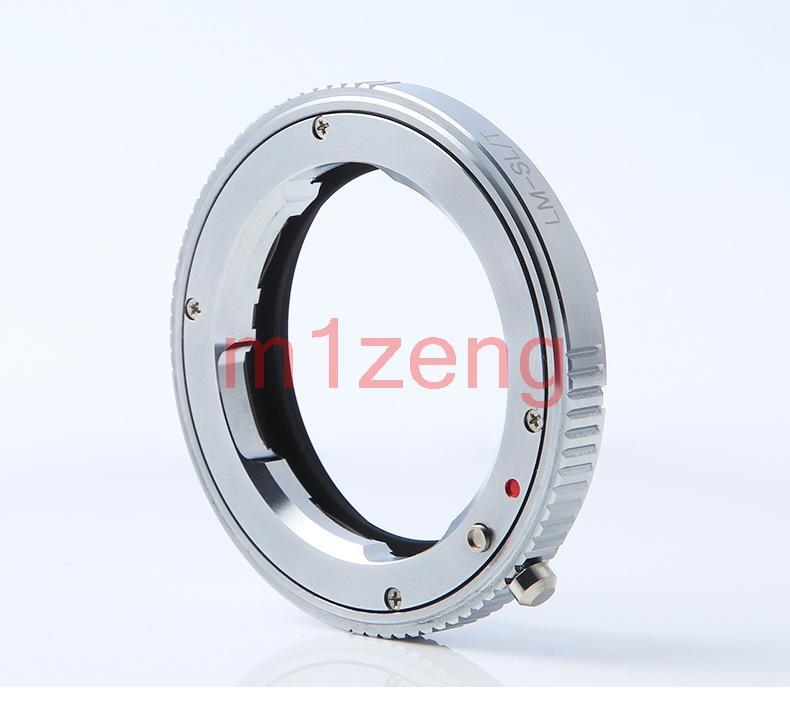 LM-SL/T Mount Lens Adapter ring for LM M lens to Leica SL/T T LT TL TL2 Typ 701 Typ701 18146 18147 18187 mirrorless camera