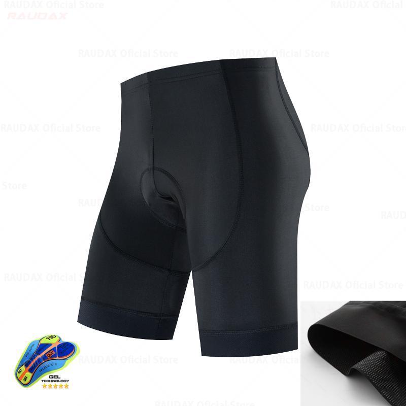 Raudax 2020 Yükseltme Bisiklet Şort Erkekler İniş Dağ Yol Bisikleti Şort yastıklı Jel Bisiklet LICRA Bermuda Ciclismo