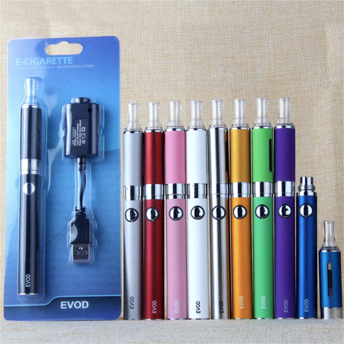 MT3 EVOD Starter Kit BCC E-Cig kits Electronic Cigarette Blister Package with EVOD battery 650mAh 900mAh 1100mAh