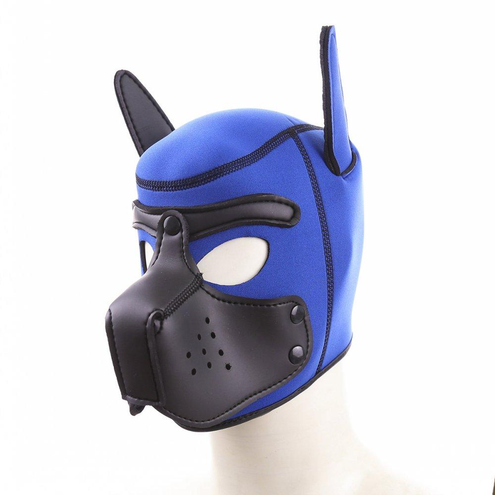 Puppy Bdsm Dog Pup Strap Mask Play Restraint Bondage Adult Games Couple Role Hood Play Sex Toys For Slave Ojqll