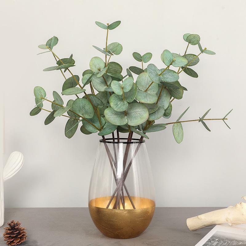 45cm Eucalyptus artificial flower plant home decoration accessories wholesale and retail