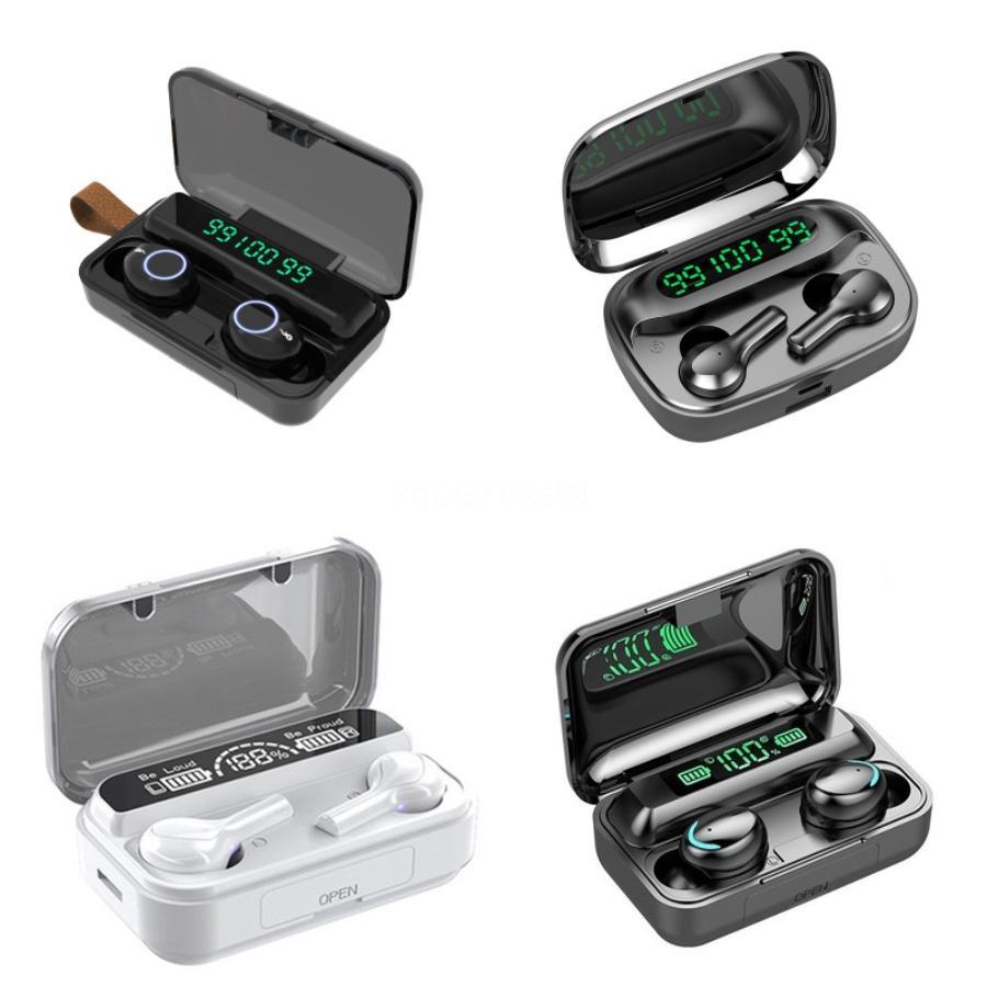 Vitog réel i9s Tws 5.0 sans fil Bluetooth Oreillettes écouteur Mini Audifonos Sport Casque avec chargeur Boîte # 275