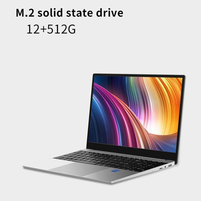 أجهزة الكمبيوتر المحمولة 15.6 بوصة الألعاب دفتر R5 2500U رباعية النواة 12 جيجابايت RAM 512GB SSD ويندوز 10 OS 1920x1080 IPS Laptop ل Pubg Dota21
