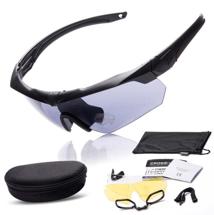 version militaire CS pare-balles de tir de soldat spécial lunettes anti-explosion des lunettes tactiques myopie extérieur Lunettes de soleil homme