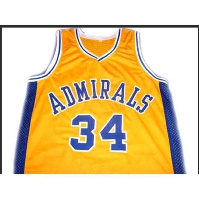 Benutzerdefinierte 604 Jugendfrauenweinlese ## 34 Kevin Garnett Admirals College Basketball-Jersey Größe S-4XL oder benutzerdefinierte Neiner Name oder Nummer Jersey