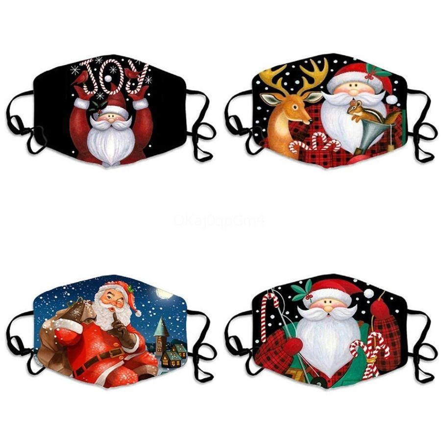 Cara máscara máscaras cara del cráneo máscara de la personalidad a prueba de polvo impresión de la manera de seda del hielo de lino puede lavada E # 803