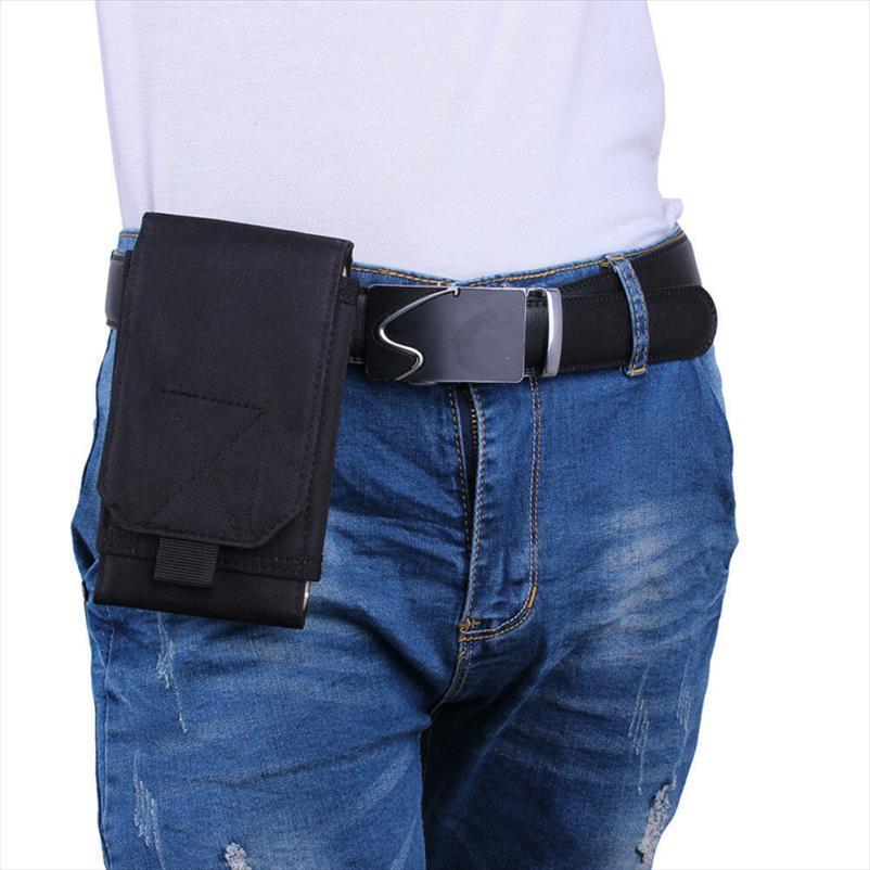 Askeri Deal Direct Molle Taktik Bel Durumda 6.5 Telefon Kılıfı Çanta Çanta Kemer Smartphone Yardımcı Hücre Wiqnq