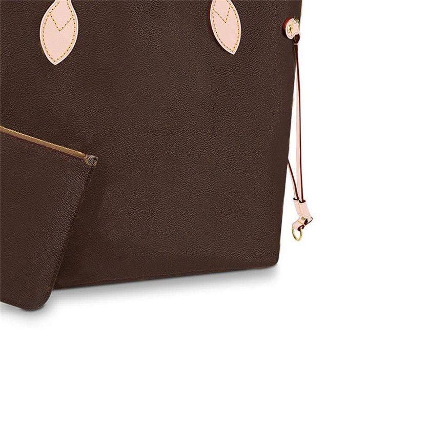 Sac à main en cuir Sac à main Brown Brown Sac pour femme Sac à main Femmes fourre-tout embrayage sacs sacs sacs sac goottes portefeuille sacs25-831 obkcd