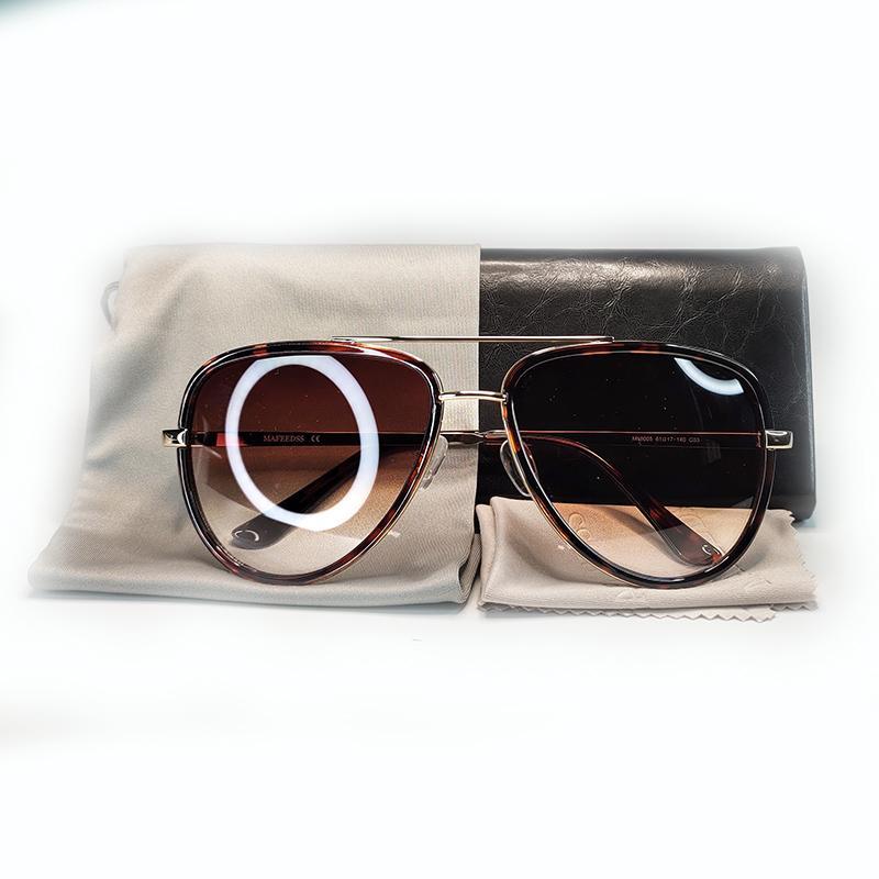 Marca óculos de sol Top Quality Sun óculos de armação de metal lente polarizada UV400 Sports Óculos de Sol Óculos Wonmen homens Moda óculos de sol