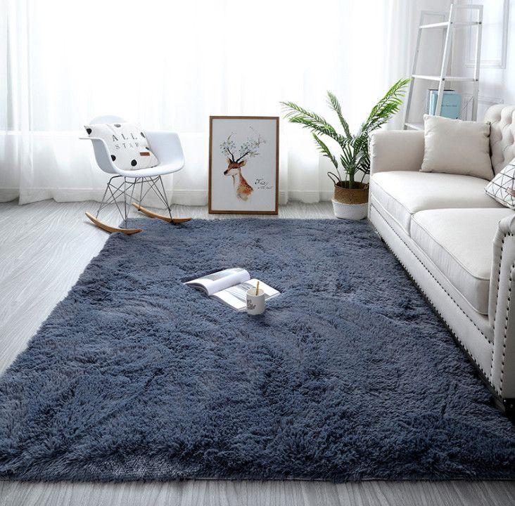 Le dernier tapis de laine de soie chaleureux a de nombreux styles et couleurs à choisir, de styles de cheveux longs, de tapis, de tapis simples pour salon