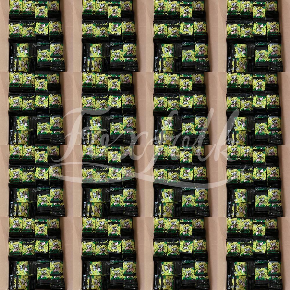 Personalizado Rlli Embalaje Empaquetado Mylar Bolsos 710 Emnizadores agrios del paquete para la flor Original Bolsas comestibles de azúcar Olor Pol uaonb