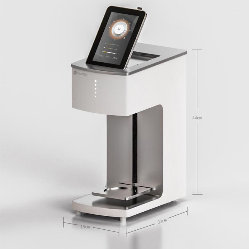 Полный умный с сенсорным экраном Macaroon принтер мини Selfie Coffee Printer1