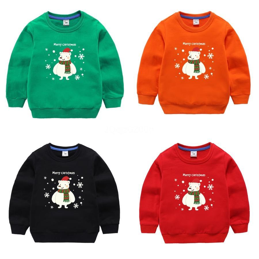 Sıcak Satış Komik Çocuk Noel Triko Unisex Çocuk WoChild Tatil Süveterler Süveter # 994 Yenilik Sonbahar Kış Giyim Tops