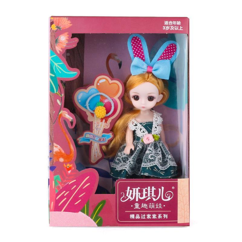 Baby Barbie Puppen Spielzeug Anzug Kinder spielen Haus Spiel Einzelgeschenk Mädchen Ändern Kleidung Prinzessin Mädchen Geburtstagsgeschenk