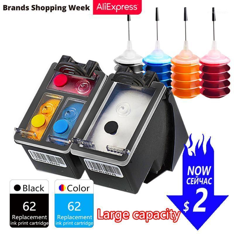 GraceMate Ink Cartridge Compatible for 62 Envy 5540 5541 5542 5543 5544 5545 5546 5547 5548 5549 7640 7643 7644 7645 Printer1