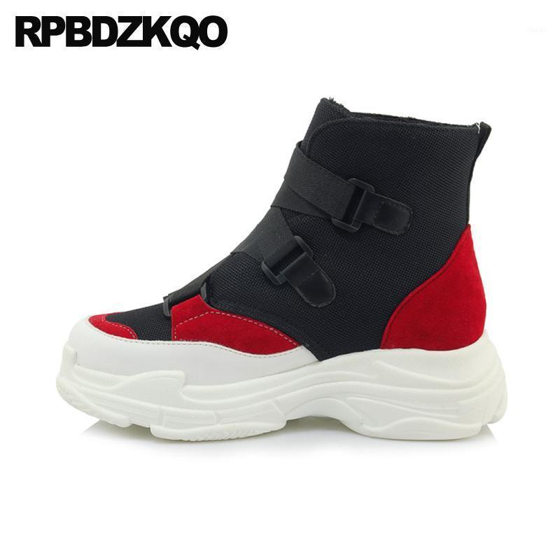 Kadın Ayakkabı Siyah Ayak Bileği Büyük Boy Patik Ucuz Artı Güz Yuvarlak Ayak Kısa Beyaz Platform Botlar Muffin Kadınlar 13 45 12 44 Flatform1