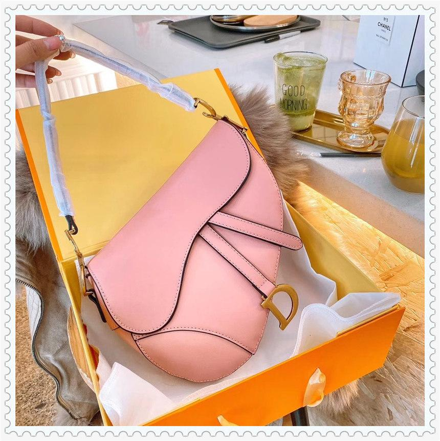 Günstige Mode Satteltaschen Luxus Handtaschen Womens Bag Designer Damen Schulter Handtasche Abend Tasche Rabatt Berühmte Marken Schloss