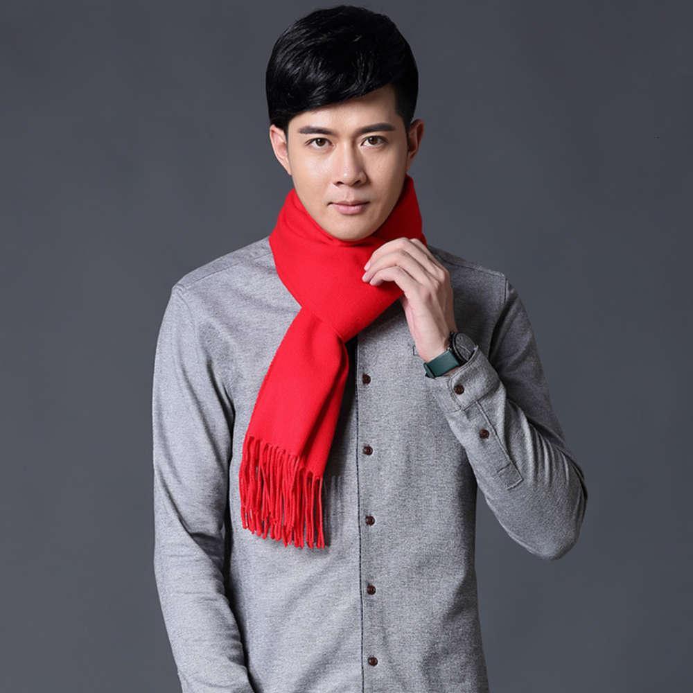 Зимний мужской шарф зимний корейский имитационный шерстяной шарф британская клетчатая шея молодой народ длинный имитационный шерстный шарф