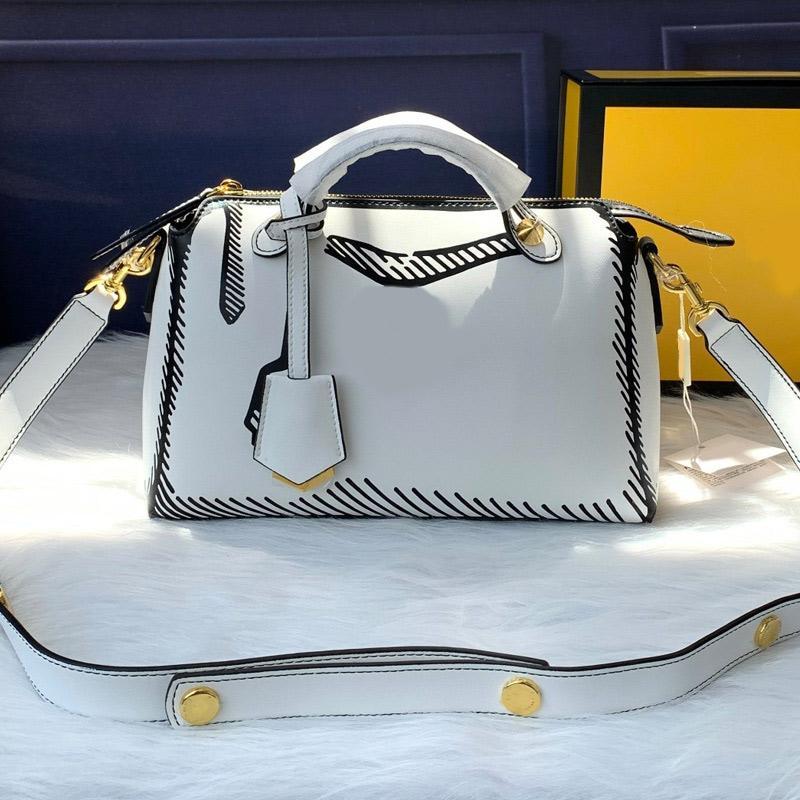 고품질 새로운 스타일 여성 핸드백 여행 가방 레이디 크로스 바디 가방 패션 이동식 어깨 스트랩 휴대용 정품 가죽 일반 손 가방