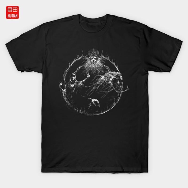 Das erste Flammen-T-Shirt Gwyn Art Hexe Nito Darksouls2 Dark Souls 3 Videospiel Kultur Seelen Gaming1