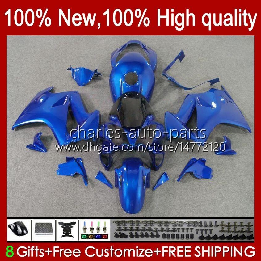 VFR-800 본체 Honda VFR800 VFR 800 RR VFR800RR 인터셉터 100HC.70 블루 광택 02 03 04 05 06 07 08 09 10 11 12 2002 2012 페어링 키트