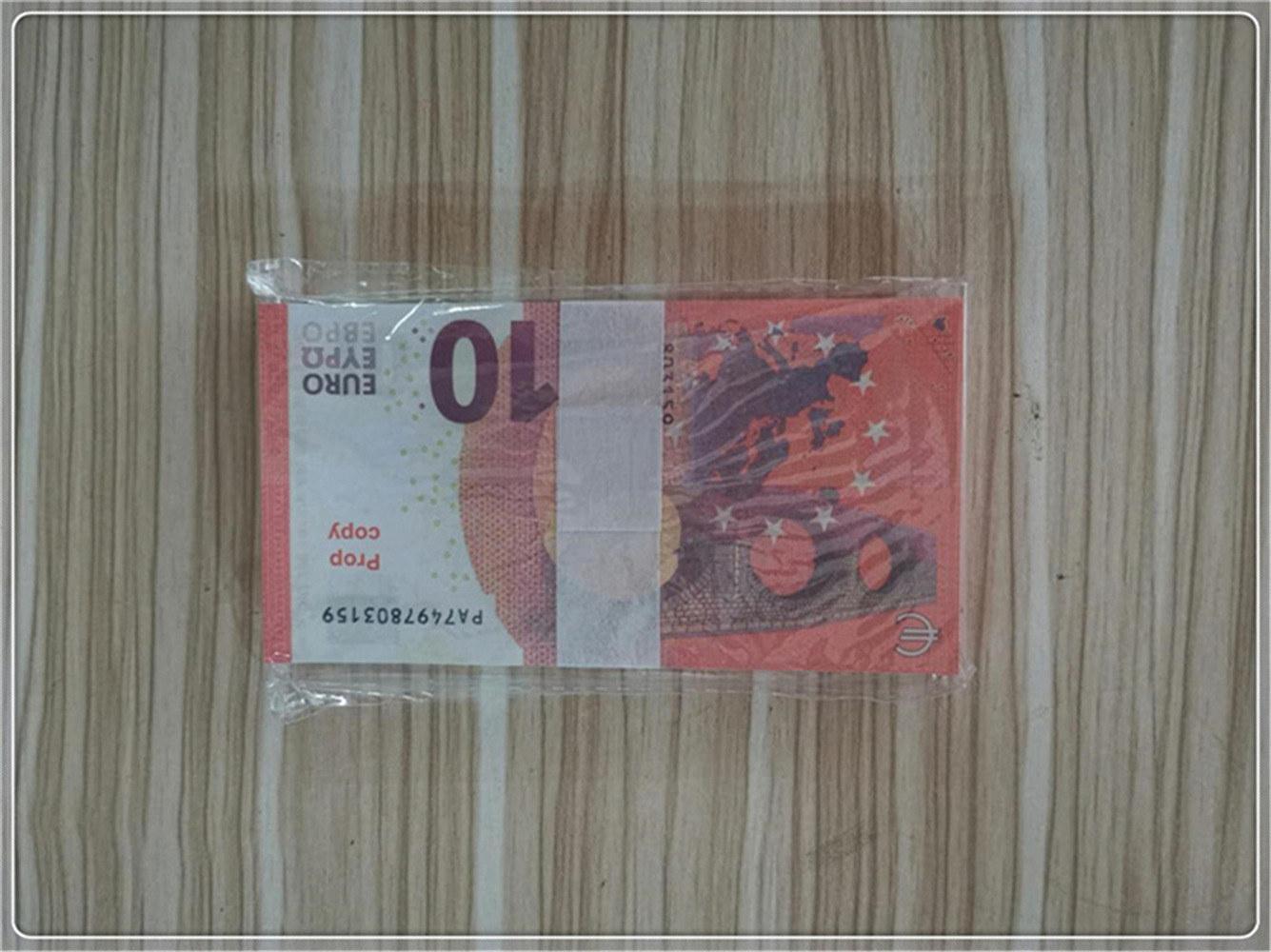 Billet de barre de billette Pound Pound Pound Dollar Euro Props Film Femme Faux Props Tirage et TV Monnaie iWhfo Le10-8 Money GDuxi