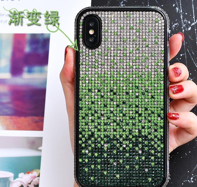 For Iphone 12 11 Mini Pro Max Xs X Xr 7 8 Plus All Diamond Glitter Back Phone Cases Bling Glitter Plating S qylKfJ loveshop01