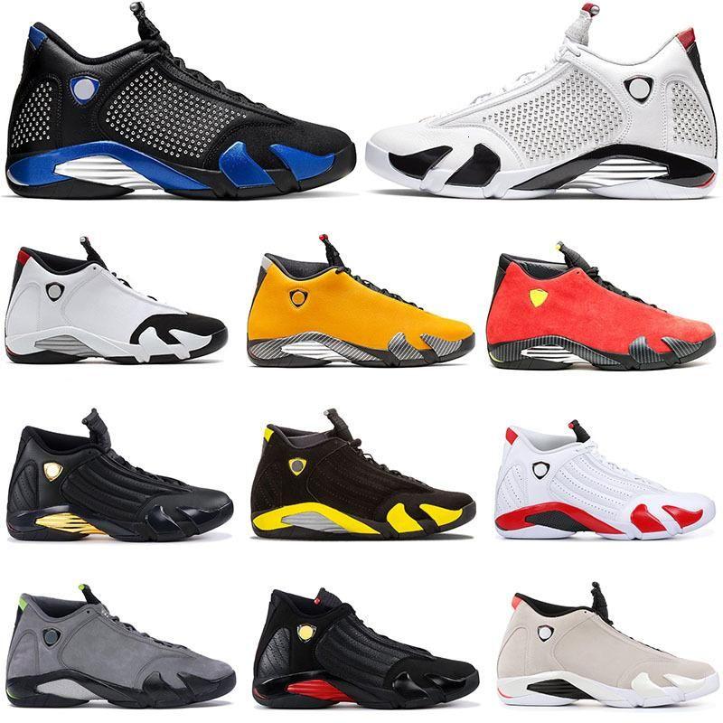 White Spm Blue X 14s Royal Jumpman 14 Ferr Yellow Mens Basketball Shoes Candy Cane Last Shot Graphite Chartreuse Men Sneakers Us 7 -1