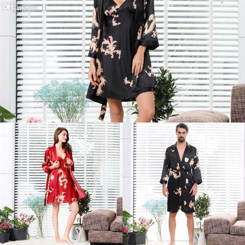 NVN Algodão Inverno Bathrobe Mulheres Mulheres Com Capuz Terry Towel Towel Silk Flower Grosso Dress Dress Manter Quente xadrez Roupão Roupão Gelo Silk