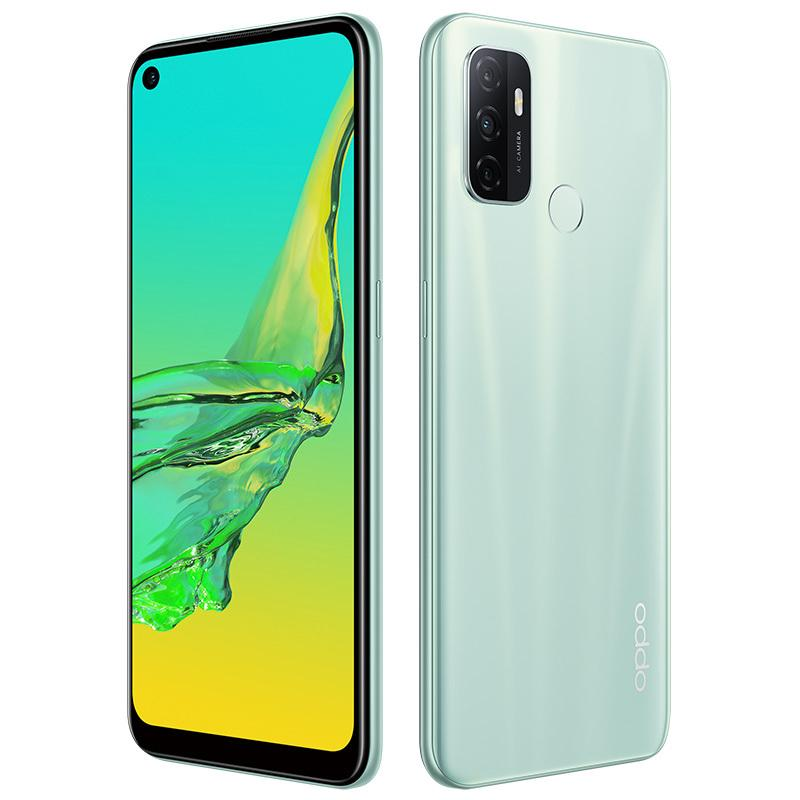 "Original Oppo A32 4G Mobiltelefon 8 GB RAM 128 GB ROM Snapdragon 460 Octa Core Android 6.5 ""Full Screen 13MP 5000mAh Fingerprint-ID-Handy"