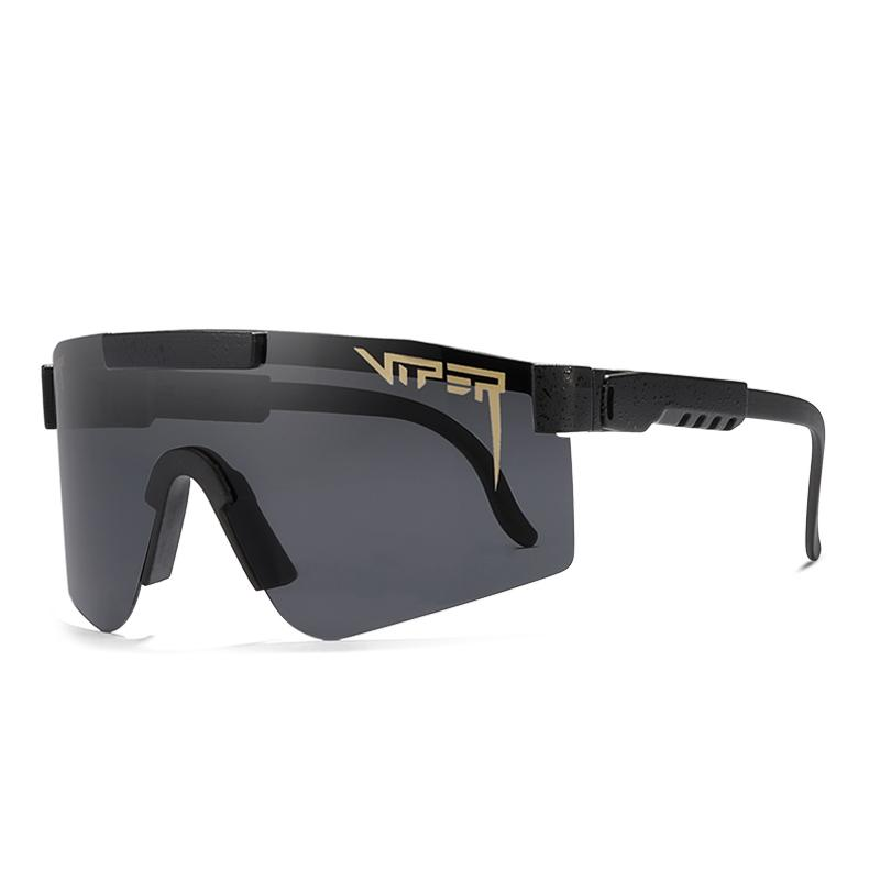 Защита Солнцезащитные очки Pit Открытый Мужчины Viper Спортивные Очки Поляризованная рамка UV400 BLA TR90 Линза BXPMN