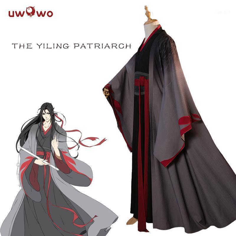 UWowo Wei Wuxian The Yilur Patriarca Cosplay Grandmaster of Demonic Coltivation Costume Wei Wuxian MO DAO ZU SHI Costume Men1