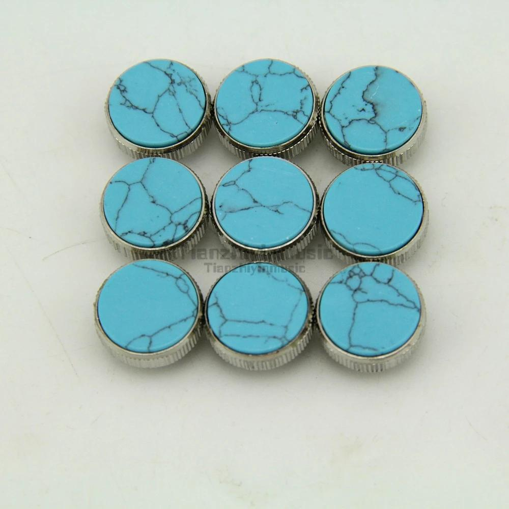 Trumpet Valve Finger Buttons Repair Parts Set of 9