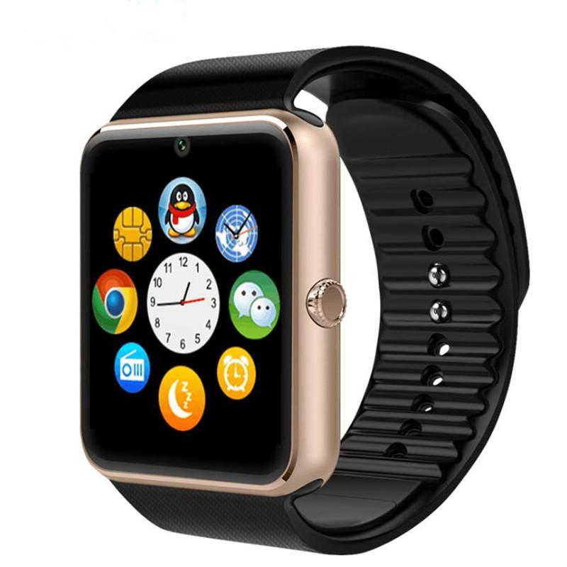 SmartWatch GT08 golden with black band