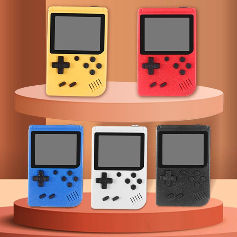 Mini Handheld Game Console player Retro Portable Video Store 400 in 1 8 Bit 3.0 Inch Colorful LCD Cradle Design